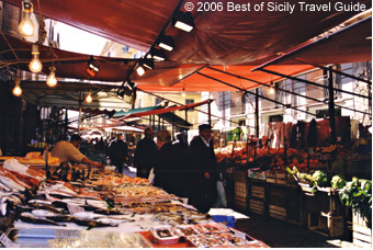 Open-Air Street Markets of Palermo - See Palermo and Western Sicily.